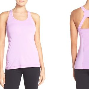 Zella Feel the Breeze Tank - Purple Daylight Small